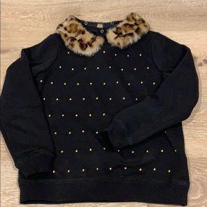 KateSpade beautiful sweater with removable collar